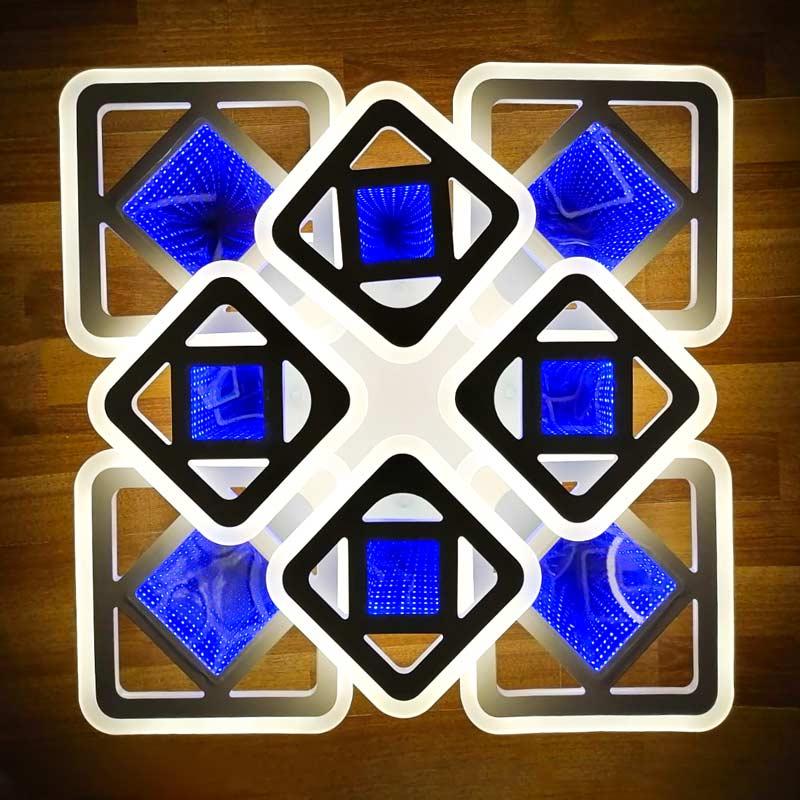 Люстра 8 квадратов squares-4d фото