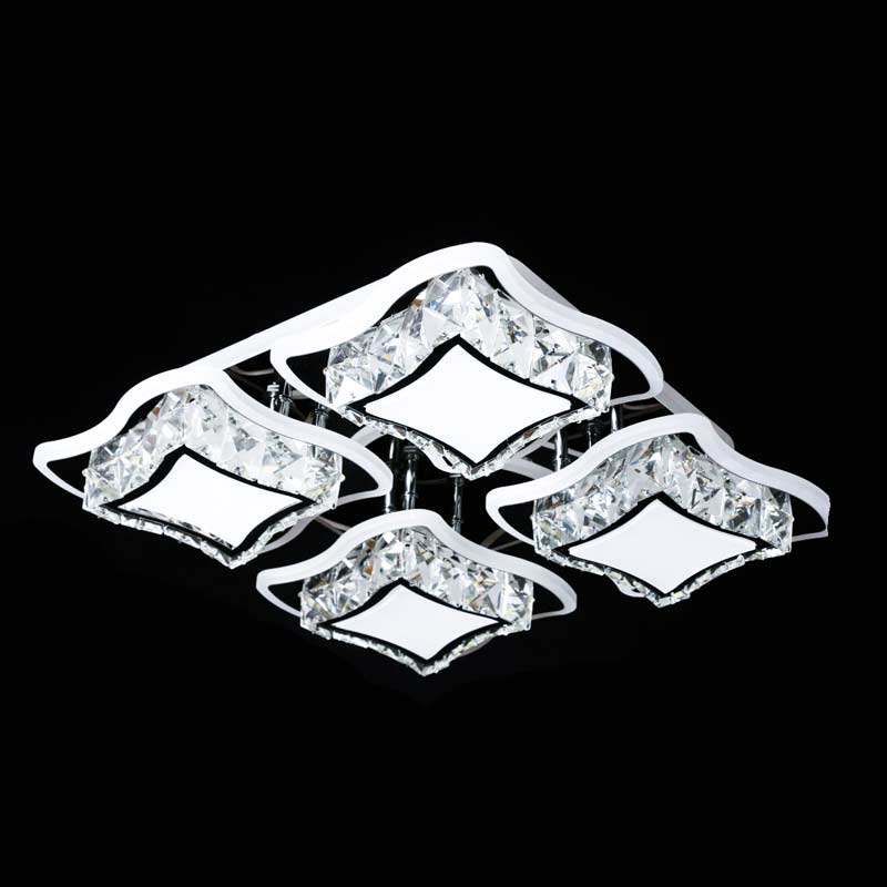 Светильник диодный хрустальный cubes-4 фото