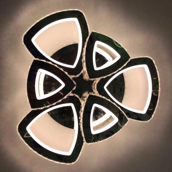люстра треугольники Crystal Trigon 6 фото
