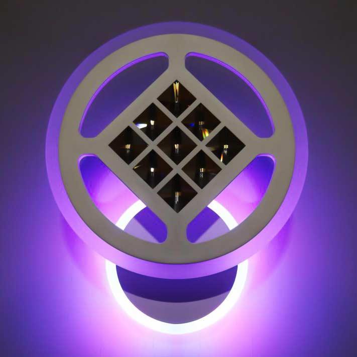 Светильник нстенный circle-prime-rgb фото