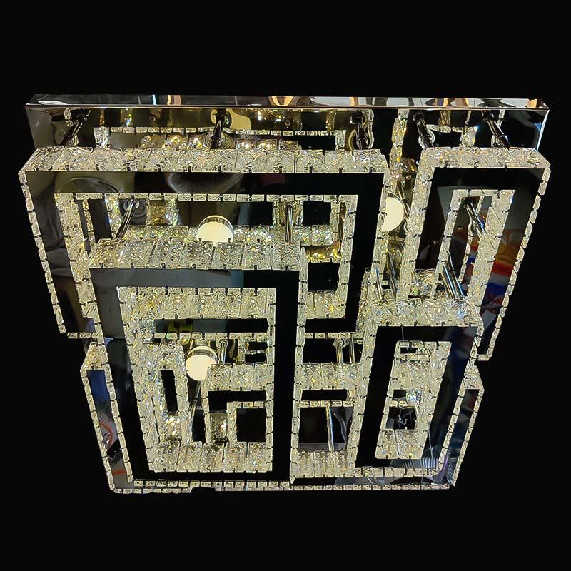 Люстра лед crystal-prime фото