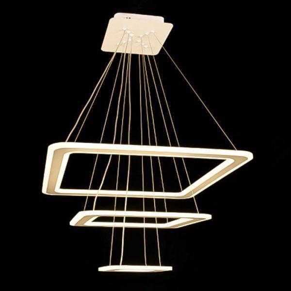 подвесная люстра квадраты Trimbless фото