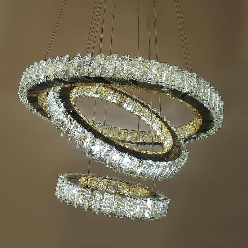 Люстра Sharp-Rings фото