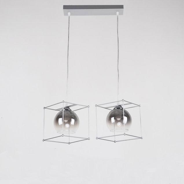 Светильник hang-cube 2 плафона фото